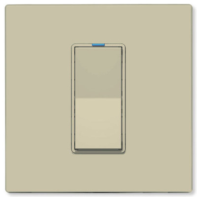PCS PulseWorx UPB LED/CFL Dimmer Wall Switch, 2,400W, Ivory