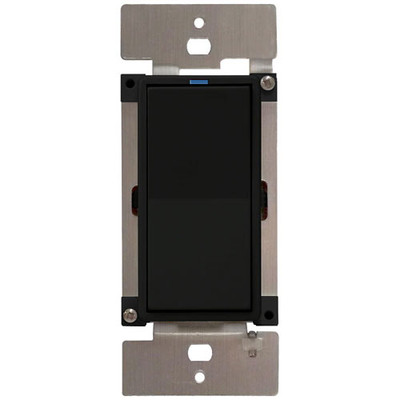 PCS PulseWorx UPB LED/CFL Dimmer Wall Switch, 600W, Black