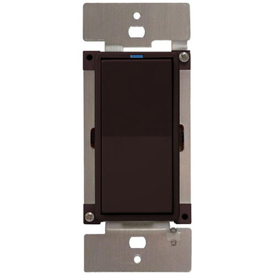 PCS PulseWorx UPB LED/CFL Dimmer Wall Switch, 600W, Brown