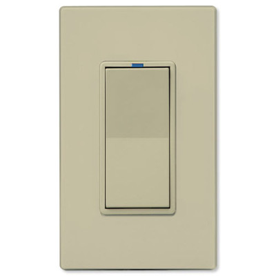 PCS PulseWorx UPB LED/CFL Dimmer Wall Switch, 600W, Ivory