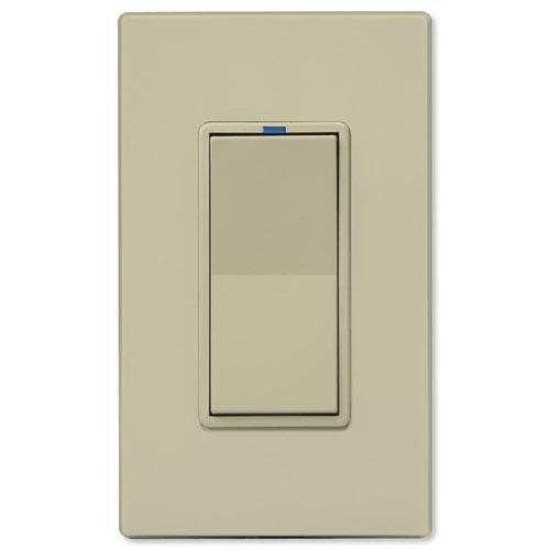 PCS PulseWorx UPB LED/CFL Dimmer Wall Switch, 600W, Ivory