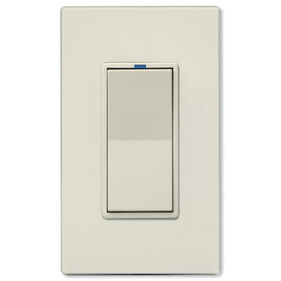 PCS PulseWorx UPB LED/CFL Dimmer Wall Switch, 600W, Light Almond