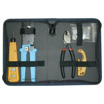 Platinum Tools Twisted Pair Termination Kit with Nylon Zip Case