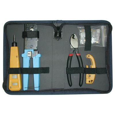Platinum Tools Twisted Pair Termination Kit with Nylon Zip Case
