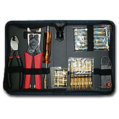 Platinum Tools Coaxial Termination Kit with Nylon Zip Case