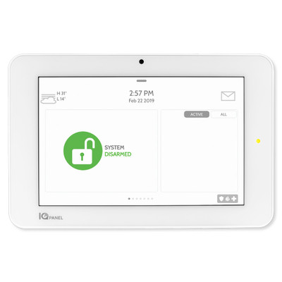 Qolsys IQ Panel 2+ (Verizon LTE, PowerG, 433 MHz)