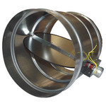 RCS 2-Wire RD Series Motorized HVAC Zone Damper, 14 In., NC