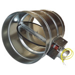 RCS 2-Wire RD Series Motorized HVAC Zone Damper, 8 In., NC
