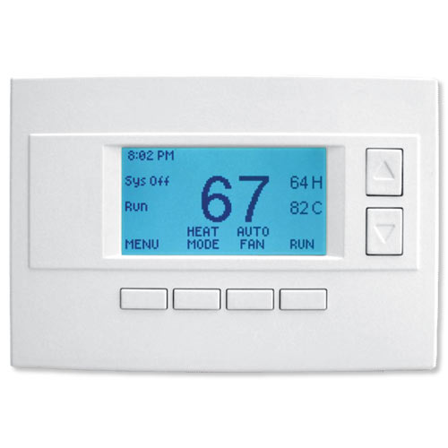 RCS RS485 Communicating Thermostat Wall Unit Display