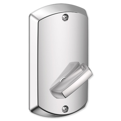 Schlage Control Smart Deadbolt with Greenwich Trim, Bright Chrome