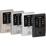 Schlage Connect Z-Wave Deadbolt, Century Style, Aged Bronze