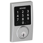 Schlage Connect Z-Wave Deadbolt, Century Style, Satin Chrome