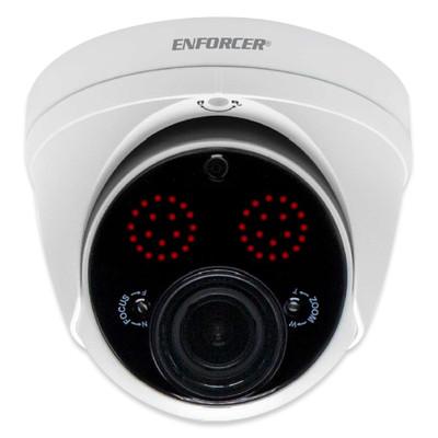 Seco-Larm Enforcer 4-in-1 Analog Turret Camera, Varifocal Turret