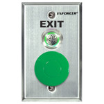 Seco-Larm Enforcer Request-To-Exit Plate with Status LED & Adjustable Buzzer