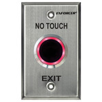 Seco-Larm Enforcer No Touch Request-to-Exit Plate, Outdoor