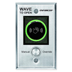 Seco-Larm Enforcer Wave-to-Open Sensor with Manual Override Button