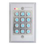 Seco-Larm Enforcer Access Control Keypad, Outdoor, Flush Mount