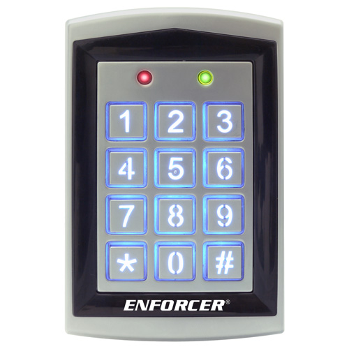 Seco-Larm Enforcer Access Control Keypad, Outdoor with Proximity Reader
