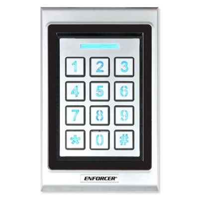 Seco-Larm Enforcer Bluetooth Access Control Keypad With Proximity Card Reader