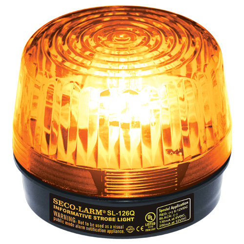 Seco-Larm Enforcer Xenon Strobe Light, 24VDC