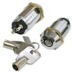 fe65ed415134 Seco-Larm Enforcer SPST Tubular Key Lock, Shunt On/Off