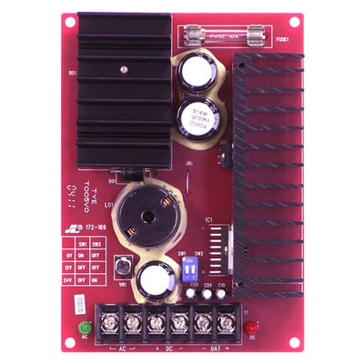 Seco-Larm Enforcer Power Supply/Charger, Regulated, 7A