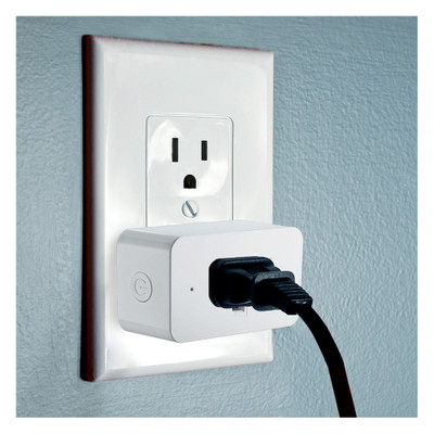 SATCO Starfish Wi-Fi 15A On-Off Outlet