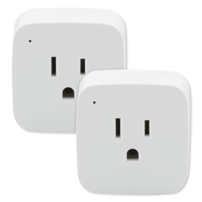 SATCO Starfish Wi-Fi 10A Mini Square On-Off Outlets