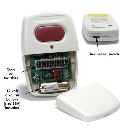 Charmant Skylink Garage Door Opener Visor Clip Remote Transmitter