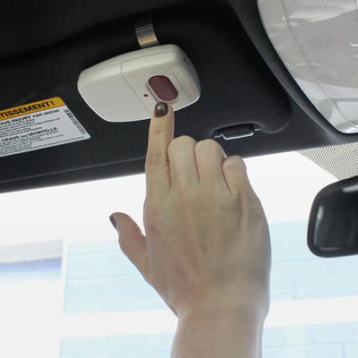 Skylink Garage Door Opener Visor Clip Remote Transmitter