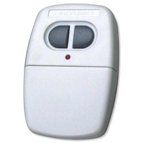 Skylink Garage Door Opener Visor Clip Remote Transmitter, 2 Button ...