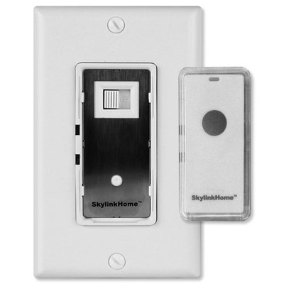 SkylinkHome Dimmer Wall Switch with Snap-On Remote