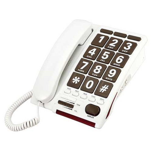 Serene Jumbo Button Amplified Phone