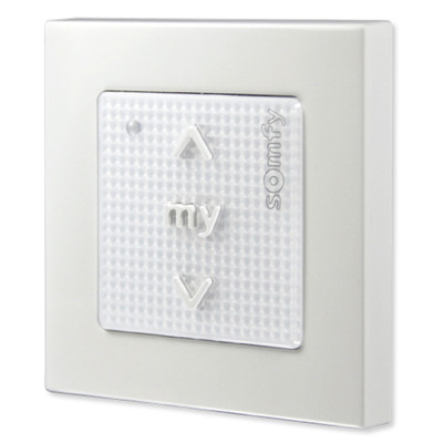 Somfy Smoove 1 Rts Pure Wall Switch Surface Mount
