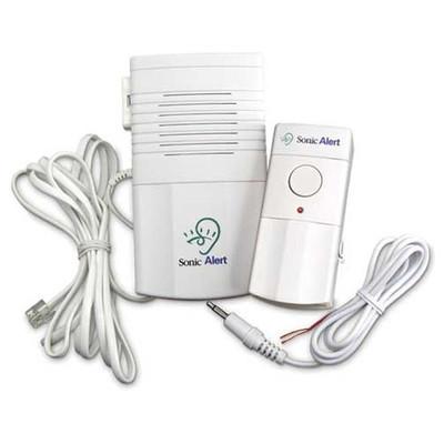 Sonic Alert Deluxe Wireless Doorbell & Telephone Signaler/Transmitter