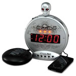 Sonic Alert Boom The Skull Alarm Clock with Bone Crusher Bed Shaker