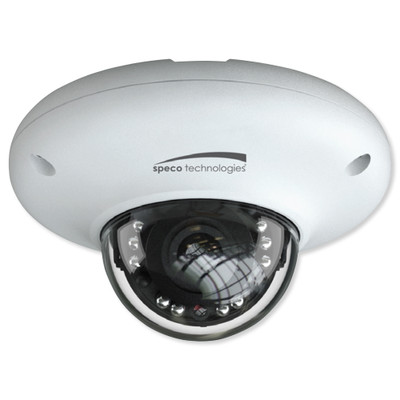 Speco H.265 Indoor/Outdoor Mini Dome IP Camera, 4MP, 2.8mm