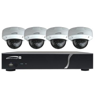 Speco HD-TVI Kit: 8-Channel Digital Video Recorder (DVR) with 8 Bullet Cameras