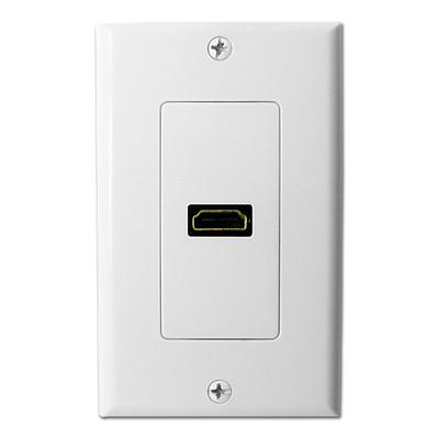 SCP HDMI Wallplate, White