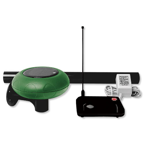STI Wireless Driveway Monitor Kit with Standard Receiver, Solar Powered