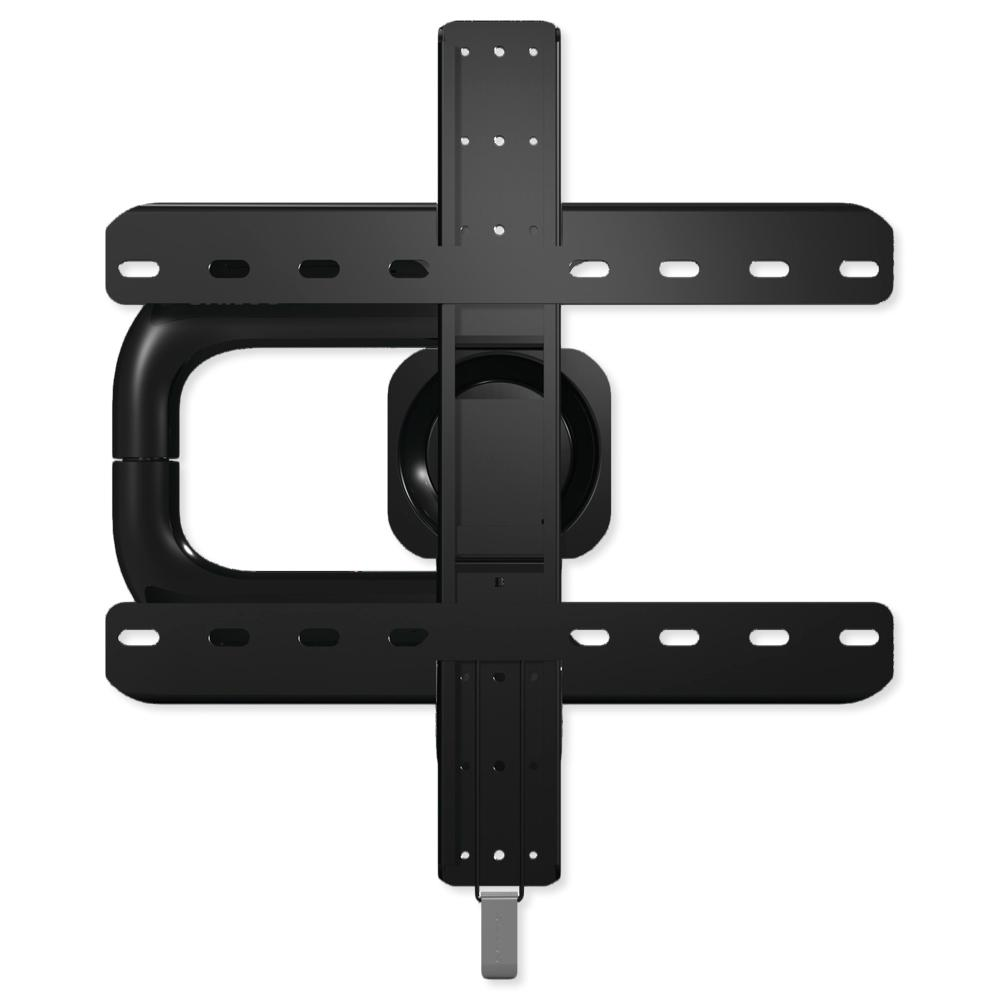 Sanus premium series full motion wall display mount for Motorized full motion tv wall mount