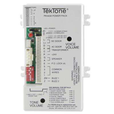 TekTone Apartment Intercom Amplifier/Relay/Power Supply