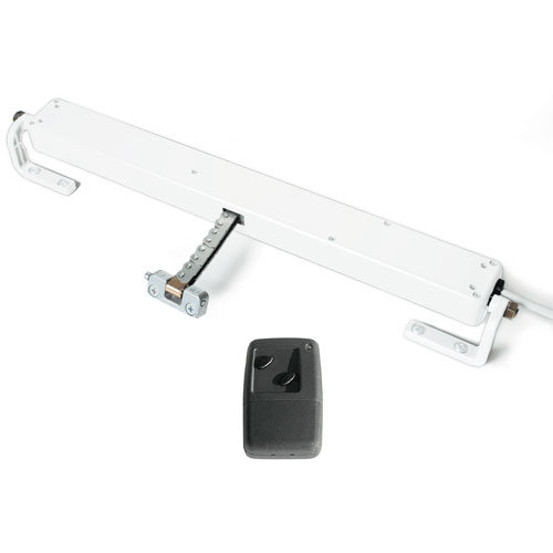UCS Vega Window Motor System, AC, with RF Control & Rain Sensor, White