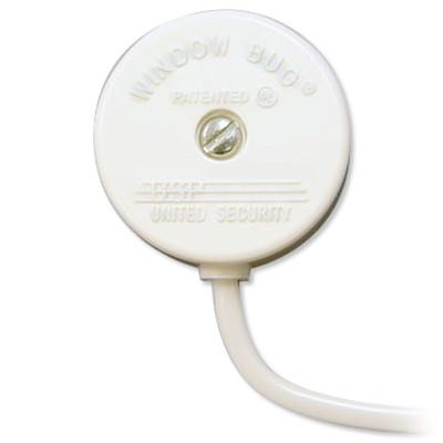 USP Window Bug Glass Break Sensor, White