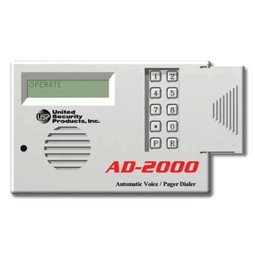 USP Automatic Voice Dialer with Power Loss, Restore, Low Battery