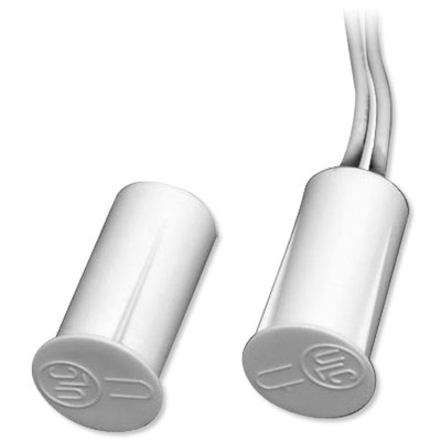 USP Best Price Magnetic Contact, 3/8 In. Short Press Fit, 3/4 In. Gap, White