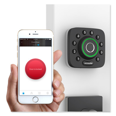 Ultraloq U-Bolt Pro Deadbolt Smart Lock With Bridge Wi-Fi Adapter