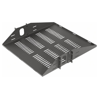 VMP Vented Center Mount Rack Shelf, 2 Units