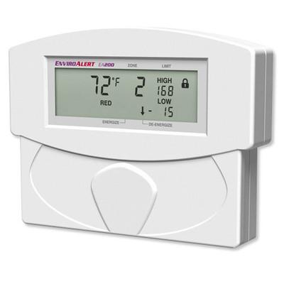 Winland EnviroAlert 2 Zones Digital Environmental Monitoring Alarm, 12VDC