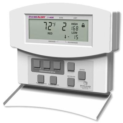 Winland EnviroAlert 4 Zones Digital Environmental Monitoring Alarm, 12VDC